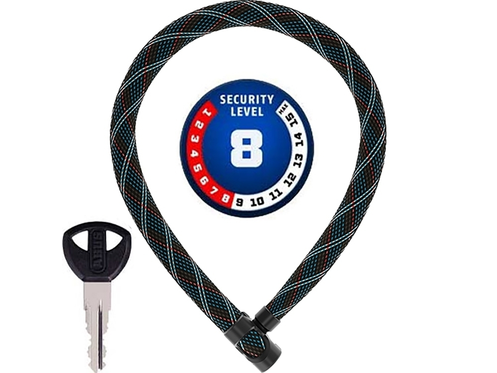 : Abus  Ivera Chain 7210 Color Kettenschloss (110 cm x 7mm crossing )