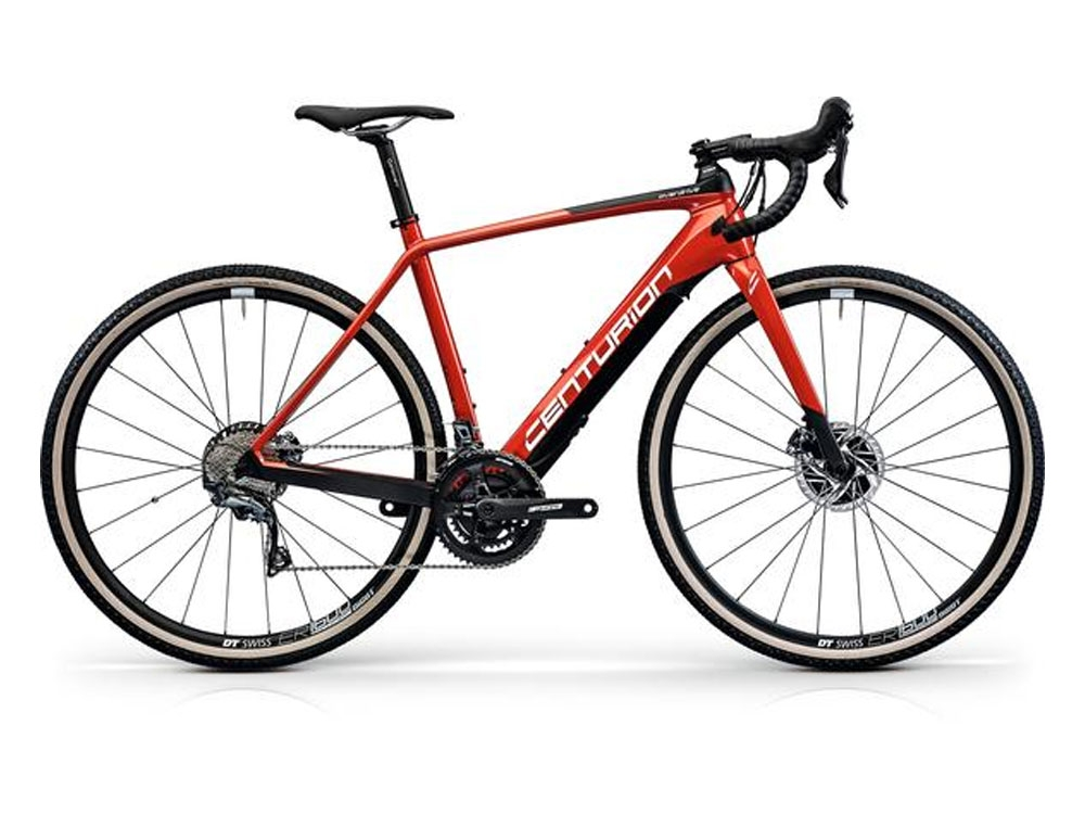 Centurion Overdrive Carbon Gravel Z4000 250Wh Rennrad eBike 28 rot carbon weiss